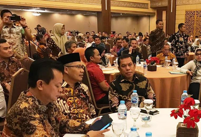 Bupati Sidrap Hadiri Lokakarya Di Kementerian PUPR