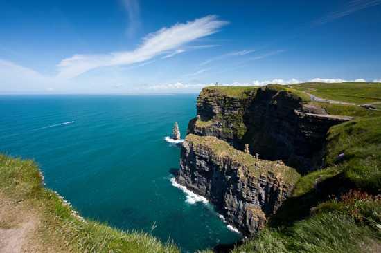 عجائب الدنيا السبع الطبيعية Ireland-cliffs-of-moher