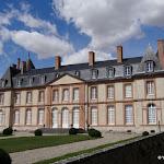 Château de Malesherbes : façade sud-est