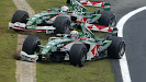 Crashed Mark Webber, Jaguar R4