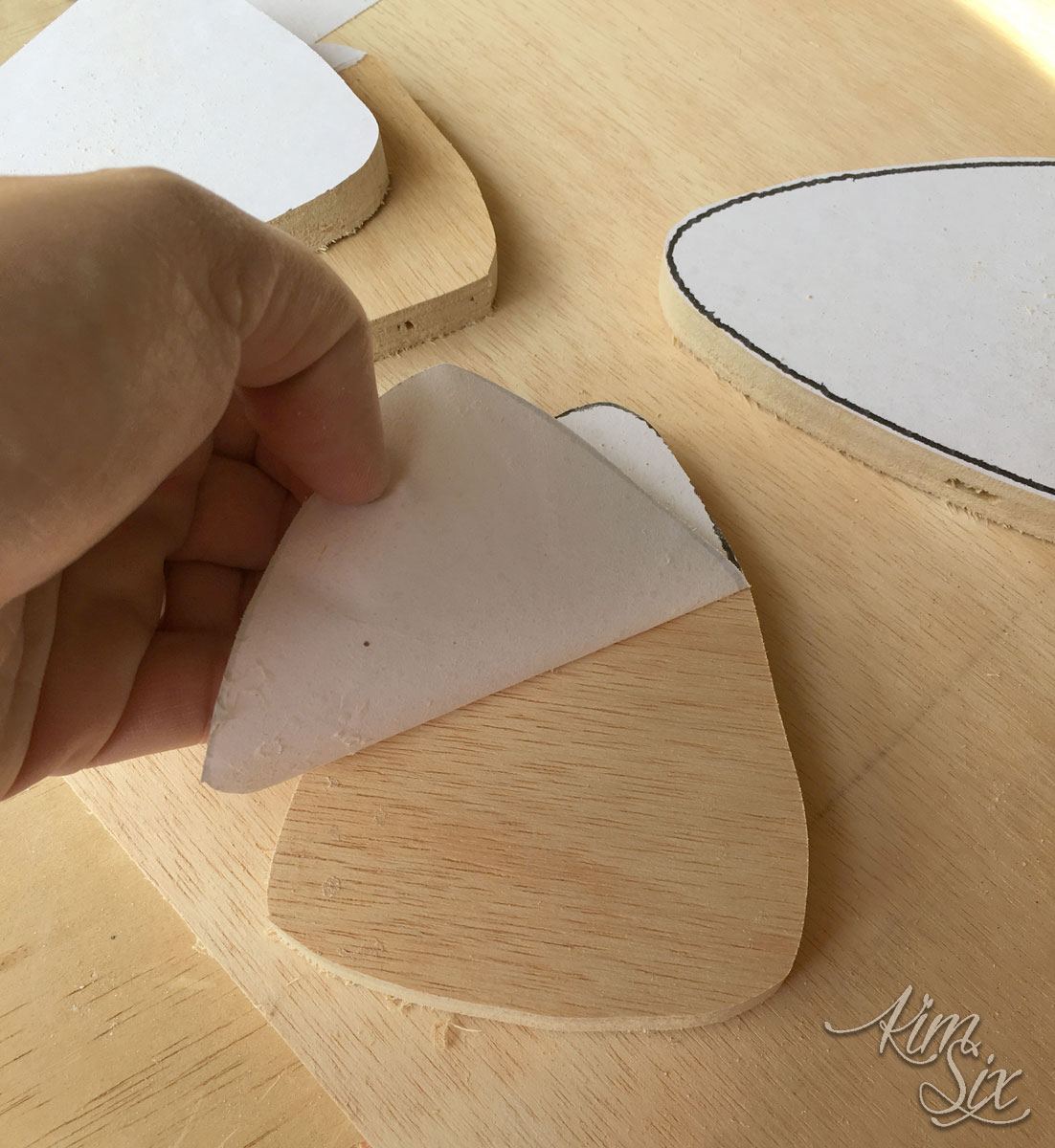 Paper scroll saw templates