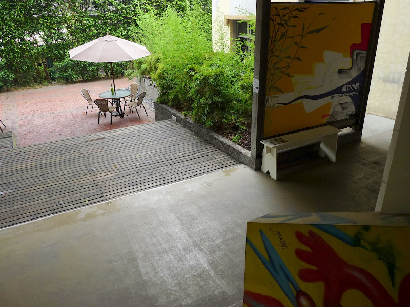 TAIWAN.Taipei Artist Village,Futai Street Mansion et CKS - P1100162.JPG