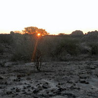 Tuli Block - sunset on a nearby kopje