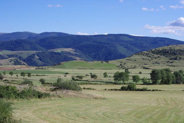 Causse Méjean (Lozère) et Mont Aigoual, 10 août 2013. Photo : J.-M. Gayman