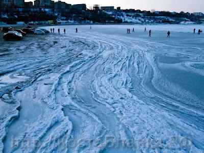 аномальные морозы, зима, морозы, Черное море, замерзшее море, Украина, Румыния, Болгария, Россия, КостаБланка.РФ