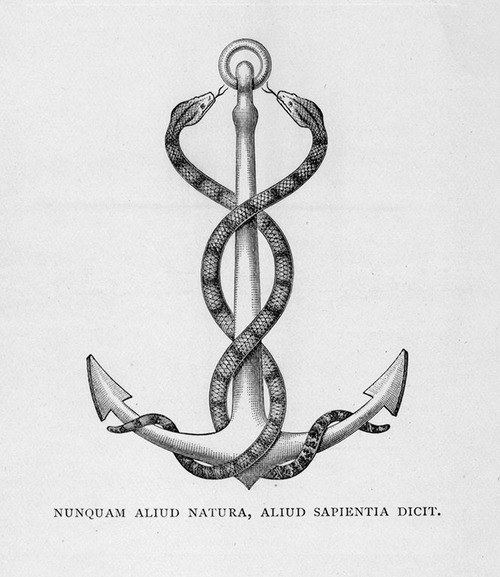 Alchemical Anchor, Alchemical And Hermetic Emblems 2