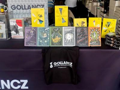Gollancz stand at LonCon