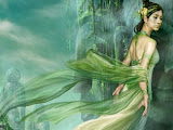 Green Lady Of Nature