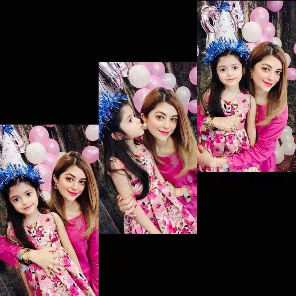 Jibran with Wife Afifa Celebrating Their Birthday