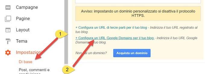 reindirizzare-blogspot-google-domains