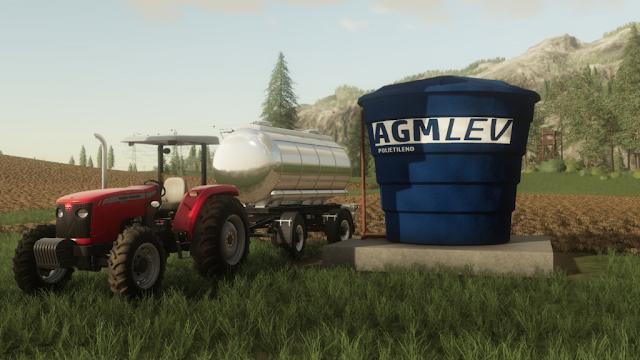 AGM Water Tank PC,MAC,PS4,XBX1