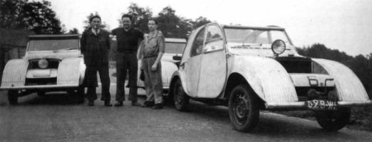 Citroën 1939 3 prototypes TPV