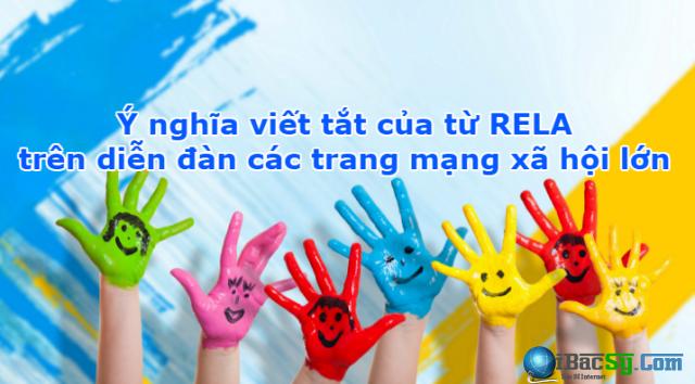 Ý nghĩa viết tắt của từ RELA trên diễn đàn mạng xã hội + Hình 1