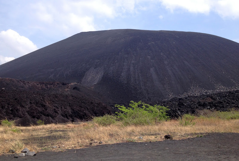 Cerro Negro - that's the face we're going down!