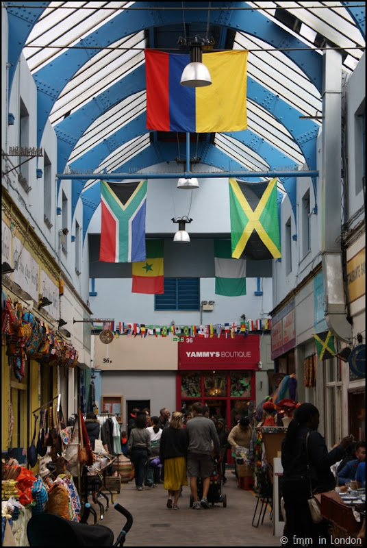 South African Flag at Brixton Village