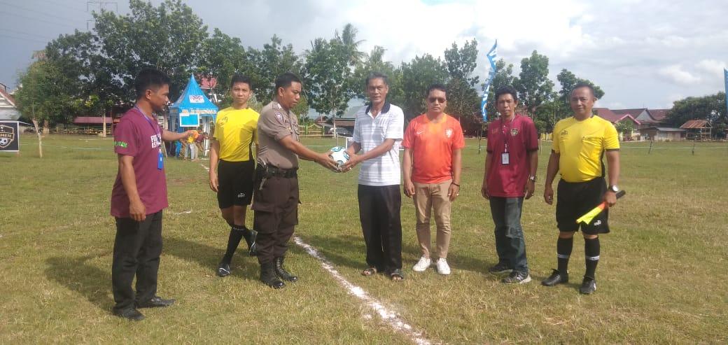 Sepak Bola Mini, Kapolsek Liliriaja Cup Digelar di Cangadi Soppeng