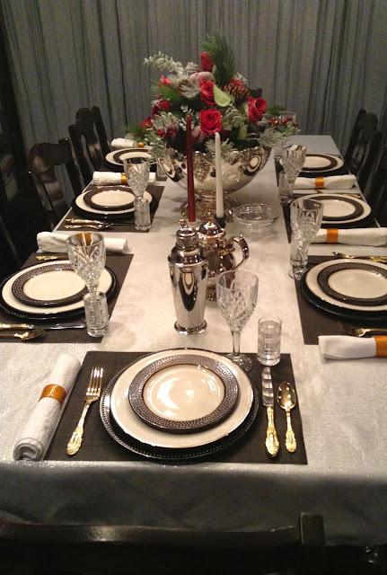 Parsimonious Décor Darling: Set Your Table With Flair--A Ralph ...