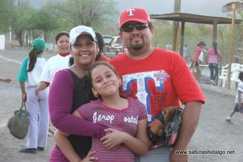 David Santos y familia en el Club Sertoma