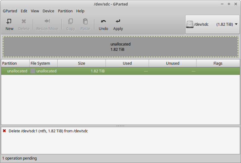 3 NTFS partition deleted