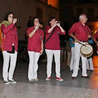 Diada dels Xiquets de Tarragona 3-10-2009 - 20091003_225_grallers_CdL_Tarragona_Diada_Xiquets.JPG