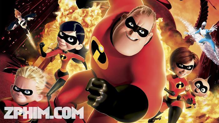 Ảnh trong phim Gia Đình Siêu Nhân - The Incredibles 1