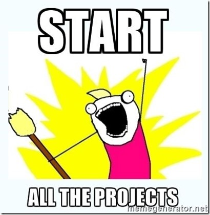start all the projects