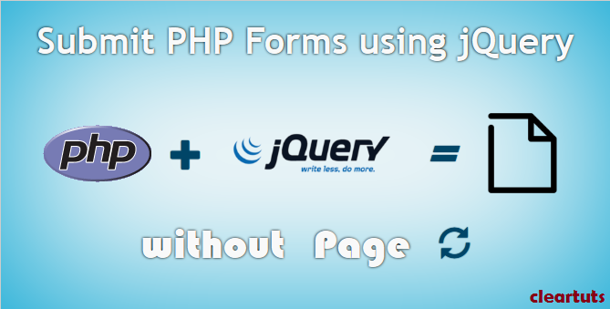 Submit PHP Form without Page Refresh using jQuery, Ajax