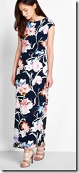 Wallis floral print maxi dress