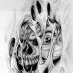 Photo - Skull Tattoos Designs