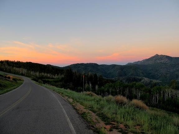 Nebo Loop road