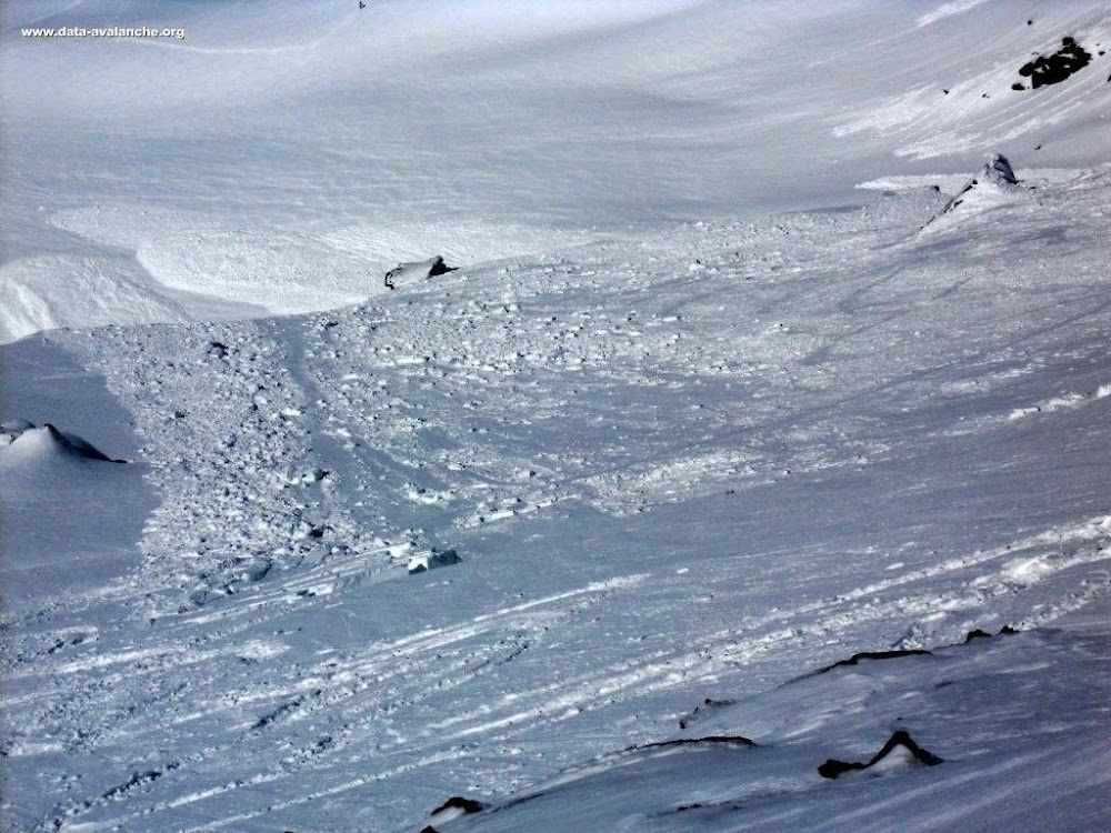 Avalanche Haute Maurienne, secteur Albaron, Selle de l'Albaron ; Pointe de Collerin - Photo 1 - © Christine Desbordes
