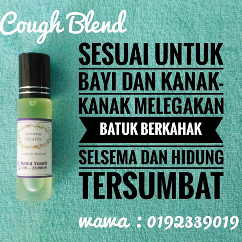 Aroma Health COUGH BLEND by Wawa Yusoff 3