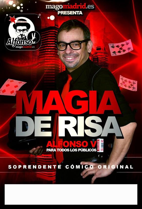 Alfonso V Magia de Risa Cartel