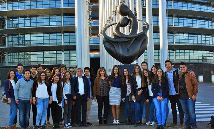 Participação do Agrupamento de Escolas da Sé – Lamego na sessão EUROSCOLA