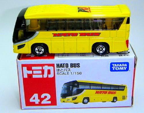 Bao bì sản phẩm Tomica 42 - Hato Bus