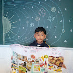 Space Collage Activity (Jr.KG.) 15-12-2014