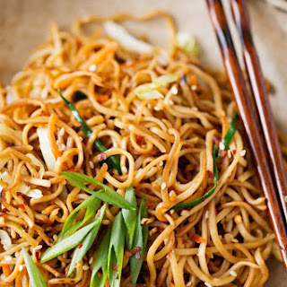 Cantonese-Style Pan-Fried Noodles