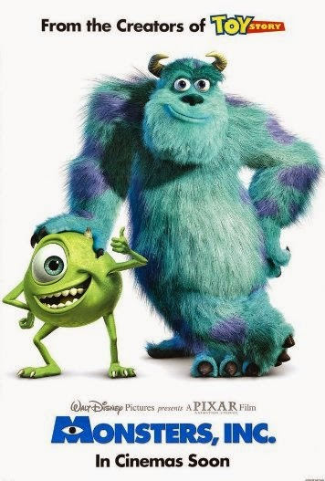 Poster Of Monsters, Inc. (2001) Full Movie Hindi Dubbed Free Download Watch Online At Alldownloads4u.Com