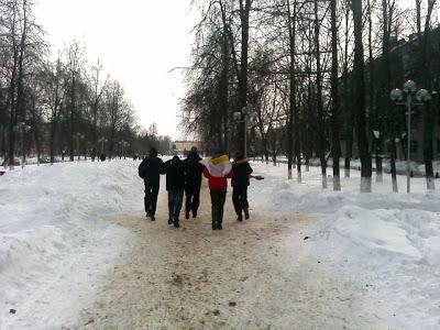 23-го февраля по всей России прошли акции здоровой молодёжи - Жуковский