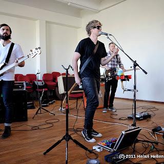 Dave Lubben bänd Pärnu Koidula gümnaasiumis ja Pärnu Raadios