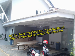 canopy minimalis alderon bekasi