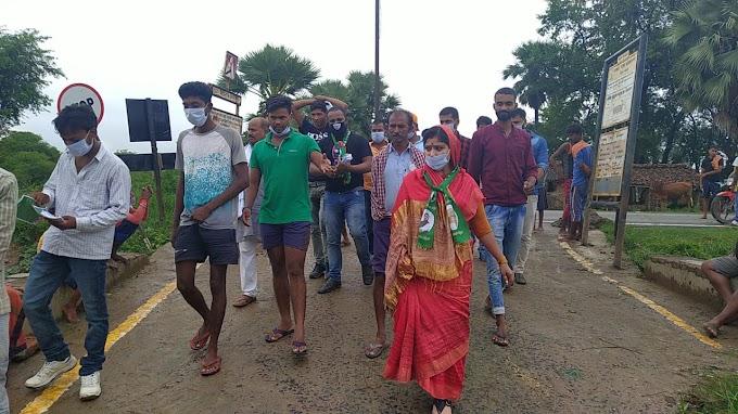 बाढ़ के लोगों के मान सम्मान की लड़ाई लड़ाई शगुन सिंह