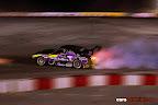 Achilles Tire's drift car at it