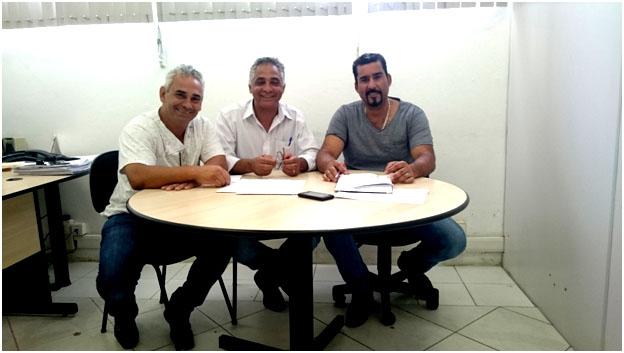 CONISUD FAZ REUNIÃO COM SECRETÁRIO DE ESPORTE E LAZER DE EMBU DAS ARTES.