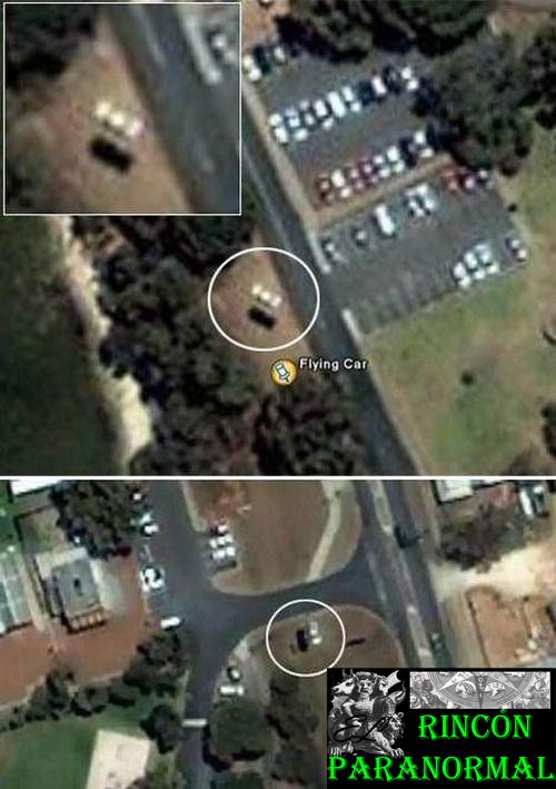 El Auto Flotante de Google Earth Auto-volador-google-earth-2006