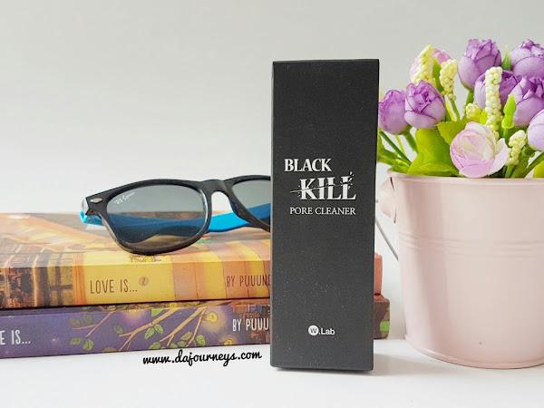Bye Bye Komedo dengan W.LAB Black Kill Pore Cleanser