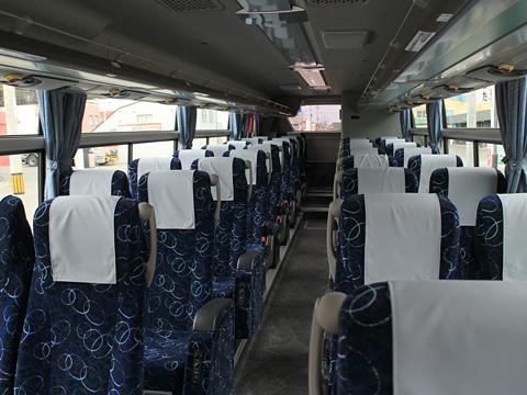 沿岸バス「特急はぼろ号」 ・395 車内