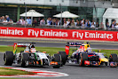 Hulkenberg (Force India) VS Daniel Ricciardo (Red Bull Racing)
