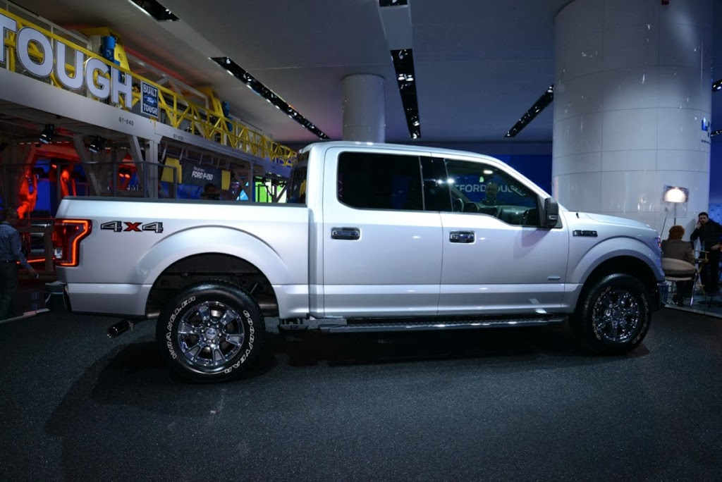 2015 Ford F-150 Unveiling NAIAS 15