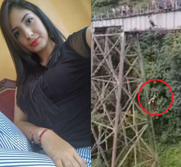 Woman bungee jumps to her death after thinking she'd been signaled to jump despite not being strapped to safety cord